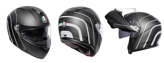 クラブスタイルにおすすめのAGVのカーボンヘルメット