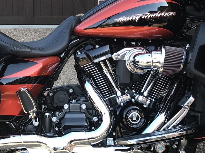 ハーレーはロングストロークエンジン