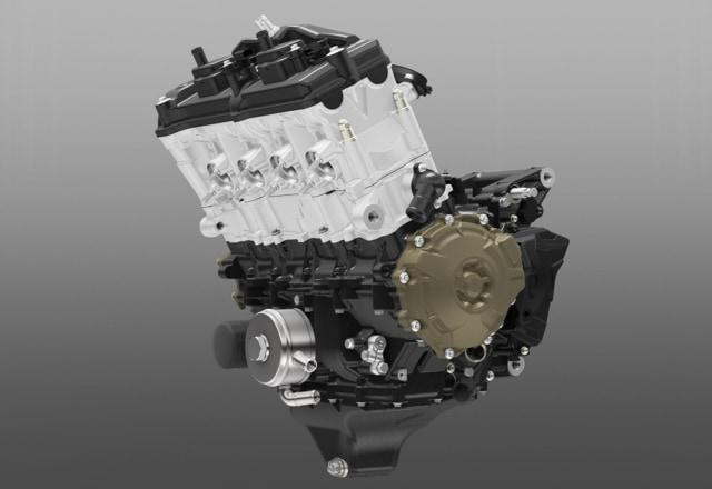 4バルブは4気筒エンジンのような小排気量に向いている